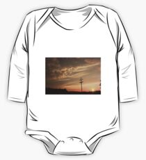 Puffy Cloud's on a Stormy night One Piece - Long Sleeve