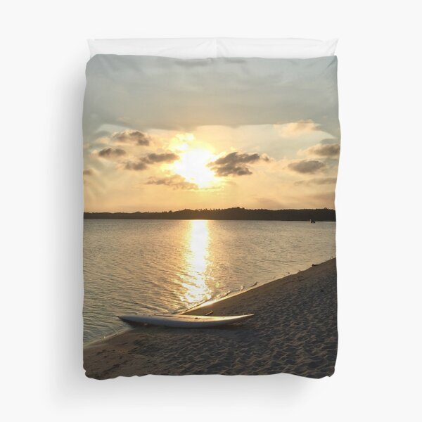 Madagascar Sunrise Duvet Cover