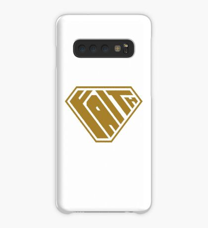 Faith SuperEmpowered (Gold) Case/Skin for Samsung Galaxy