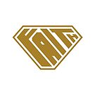 Faith SuperEmpowered (Gold) by Carbon-Fibre Media