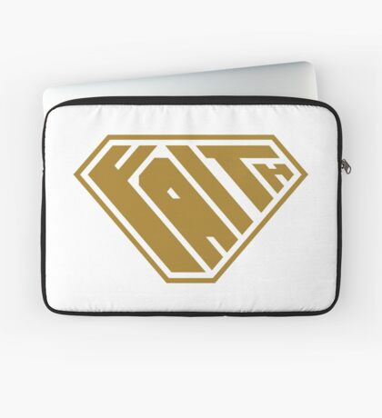 Faith SuperEmpowered (Gold) Laptop Sleeve