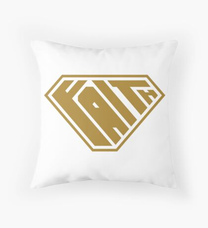 Faith SuperEmpowered (Gold) Floor Pillow