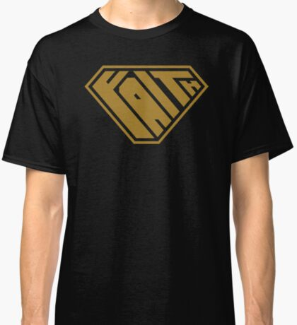 Faith SuperEmpowered (Gold) Classic T-Shirt