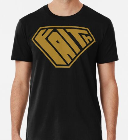 Faith SuperEmpowered (Gold) Premium T-Shirt