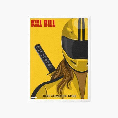 Kill Bill Goodies Art Board Print