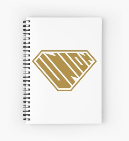 Union SuperEmpowered (Gold) Spiral Notebook