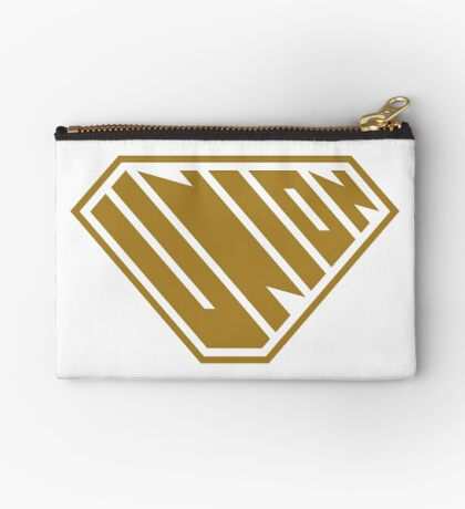 Union SuperEmpowered (Gold) Zipper Pouch
