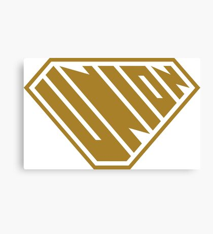 Union SuperEmpowered (Gold) Canvas Print