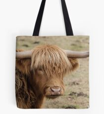 Scottish Highland cow Tote Bag