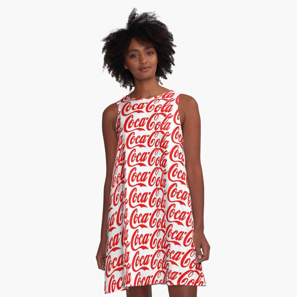 coca-cola A-Line Dress