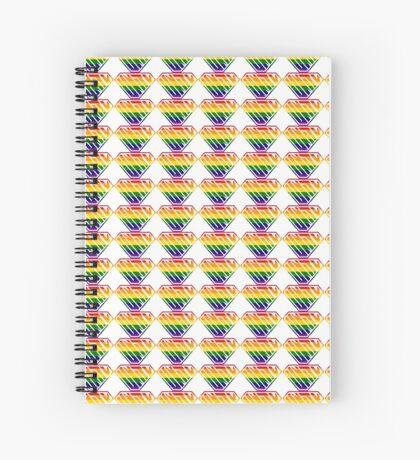 Unity SuperEmpowered (Rainbow) Spiral Notebook
