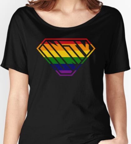Unity SuperEmpowered (Rainbow) Relaxed Fit T-Shirt