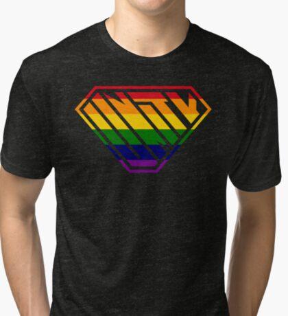 Unity SuperEmpowered (Rainbow) Tri-blend T-Shirt