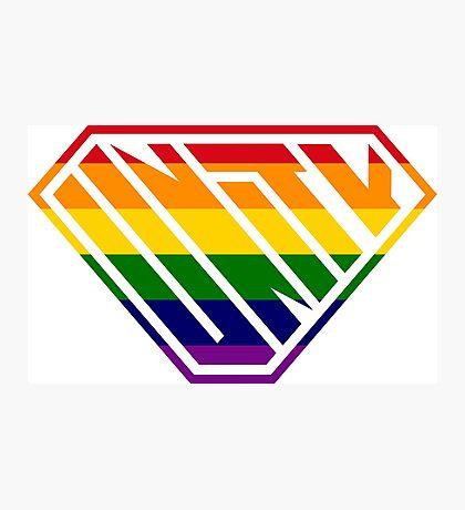 Unity SuperEmpowered (Rainbow) Photographic Print