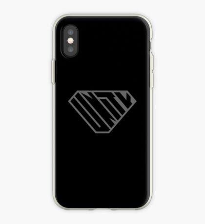 Unity SuperEmpowered (Black on Black) iPhone Case