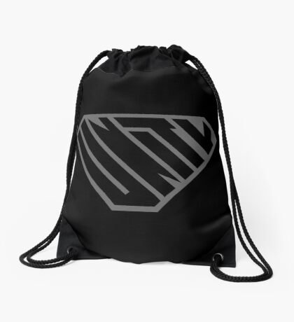 Unity SuperEmpowered (Black on Black) Drawstring Bag