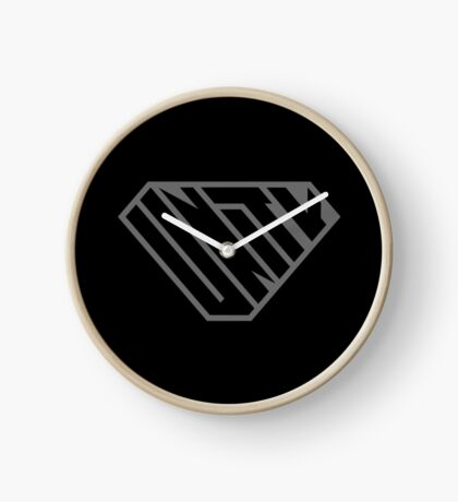 Unity SuperEmpowered (Black on Black) Clock