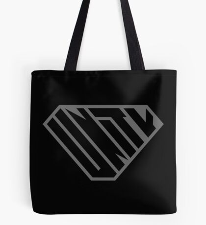 Unity SuperEmpowered (Black on Black) Tote Bag