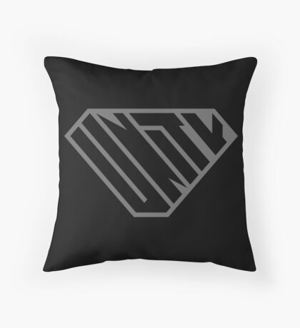 Unity SuperEmpowered (Black on Black) Floor Pillow