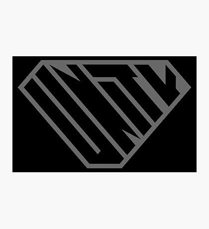 Unity SuperEmpowered (Black on Black) Photographic Print