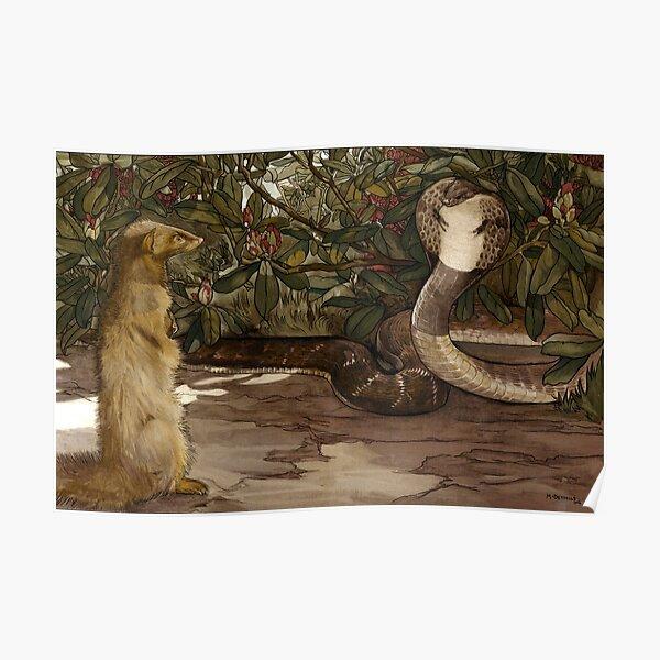 Dschungelbuch - Rikki Tikki Tavi - Gebrüder Detmold Poster