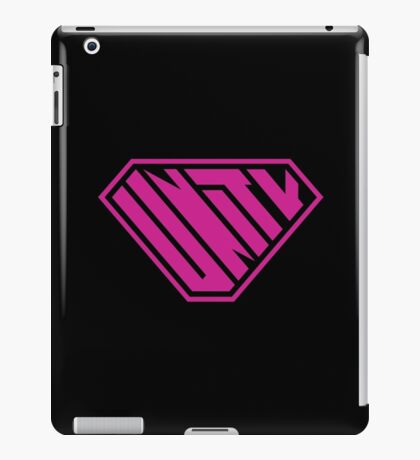 Unity SuperEmpowered (Pink) iPad Case/Skin