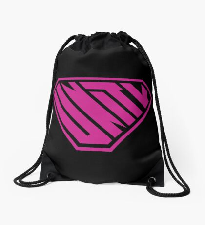Unity SuperEmpowered (Pink) Drawstring Bag