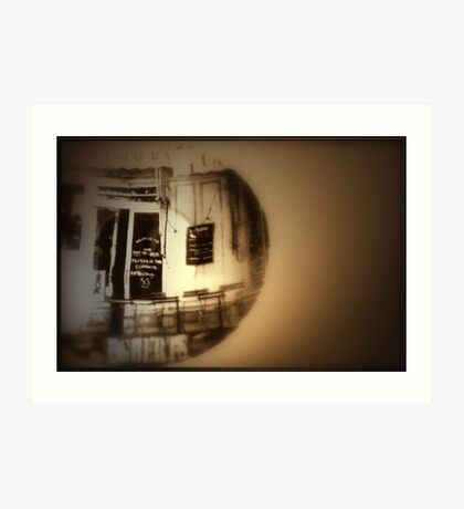 As I sit here with my coffee, I remember that time in Paris when we........ Art Print