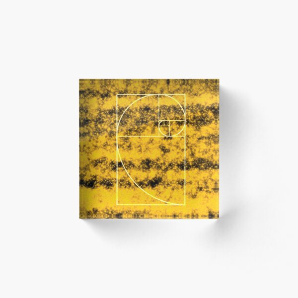 GOLD PROPORTION Acrylic Block