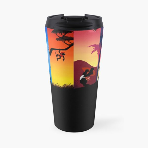 Hexaptych Silhouettes Travel Mug