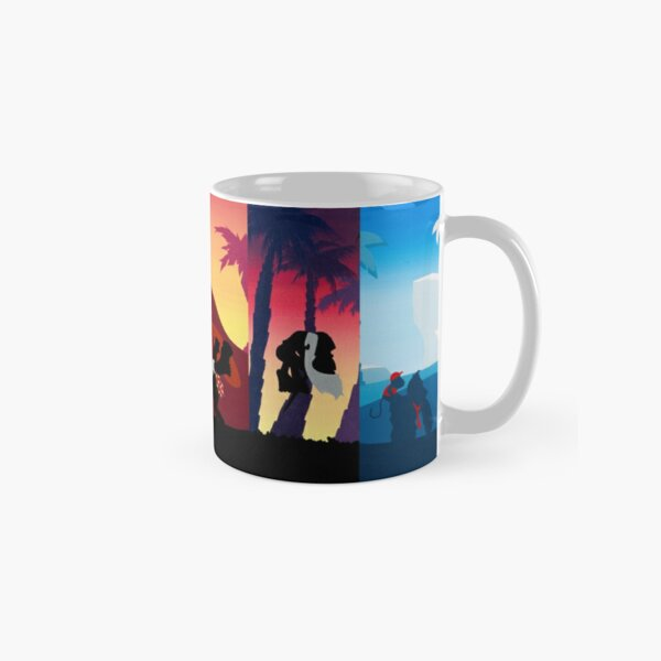 Hexaptych Silhouettes Classic Mug