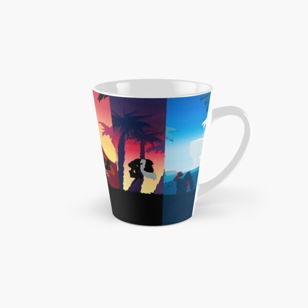 Hexaptych Silhouettes Tall Mug