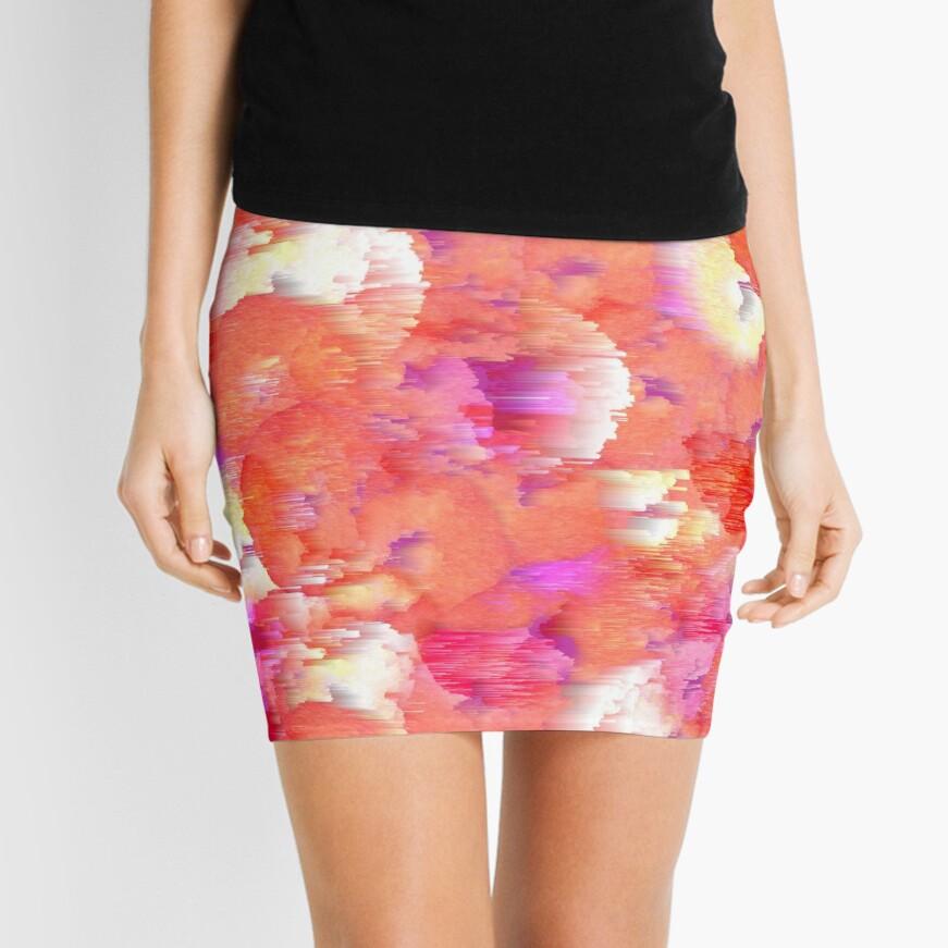 modern petals Mini Skirt