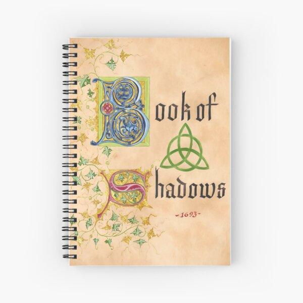 Página del libro de las sombras Cuaderno de espiral