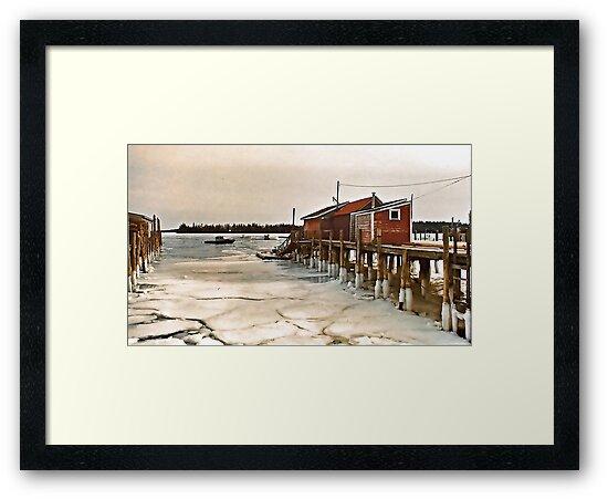 --Friendship Harbor, Maine -- by T.J. Martin