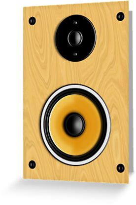 Maple Loudspeaker No Screen by Ra12