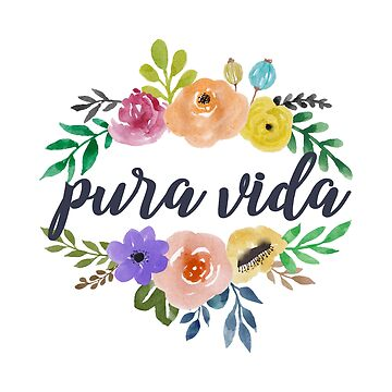 Pura Vida Top and Bottom Flowers de annmariestowe
