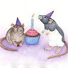 Birthday Rats by WolfySilver