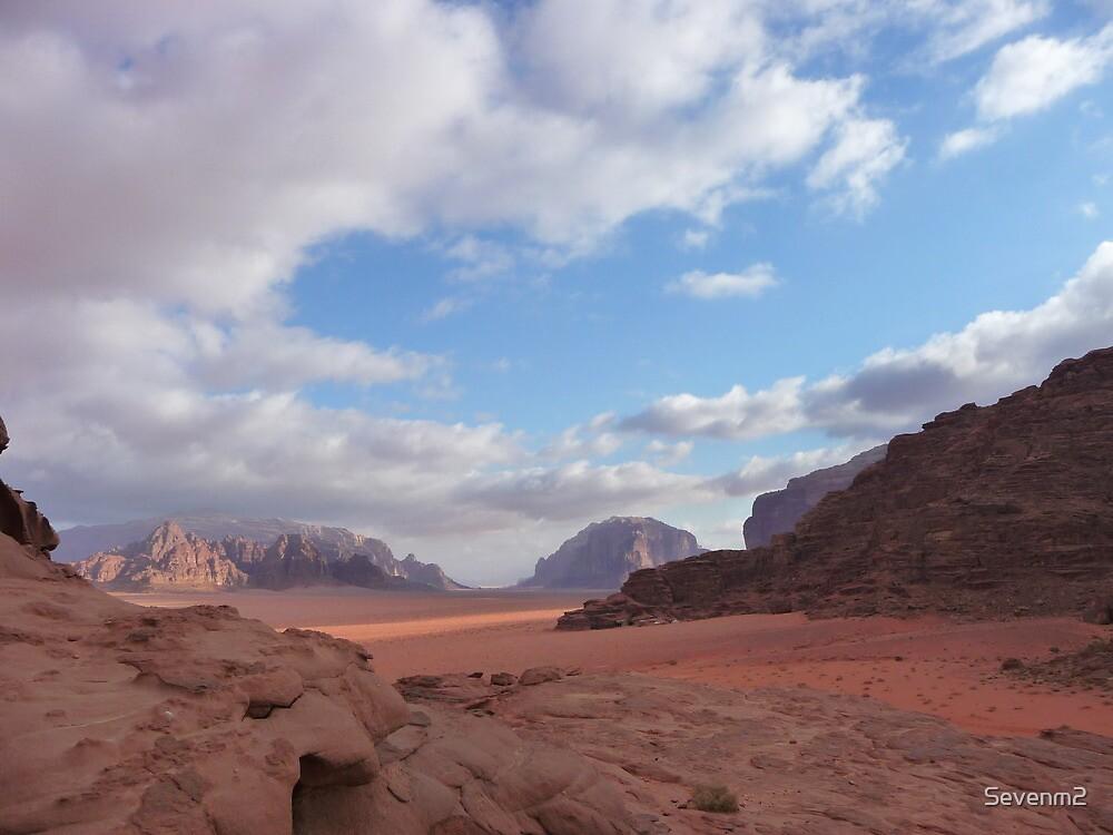 Wadi Rum Jordan  by Sevenm2