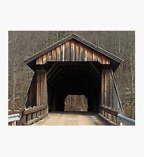 Livingston Manor Covered Bridge Photographic Print