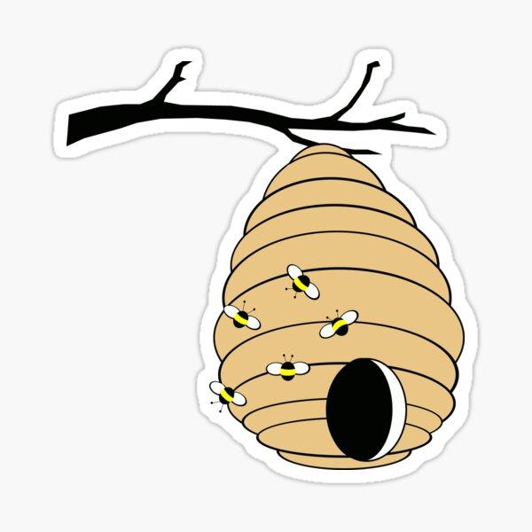 Bee My Honey in Color Sticker