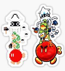 Enemy Stack (+ Pixel Version) Sticker