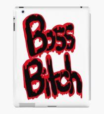 I'm A Boss Ass Bitch iPad Case/Skin