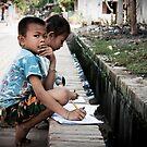 Children of Laos by fred  funkeldink