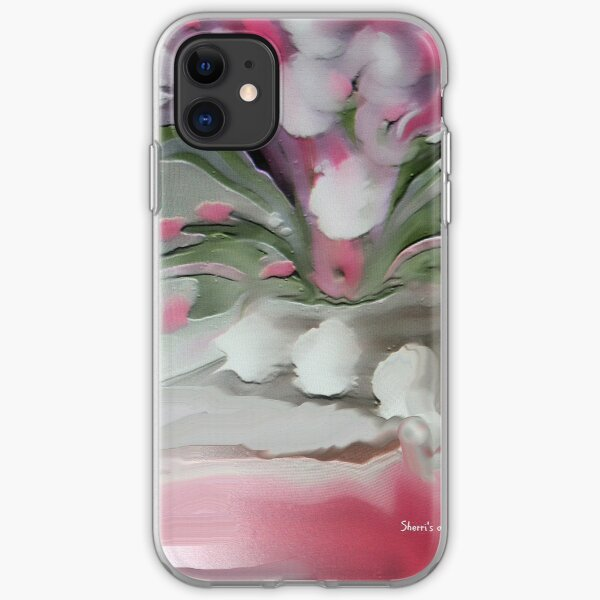 Think Pretty Pink iPhone Soft Case