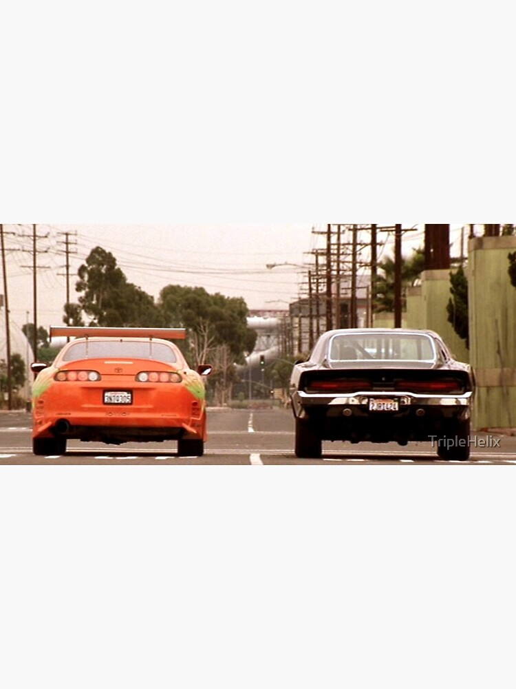 The Fast And The Furious last race by TripleHelix