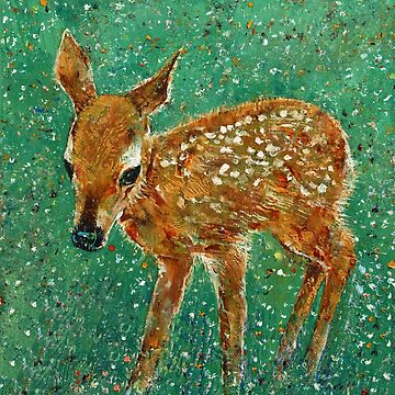 Baby Deer by michaelcreese