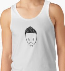 Spikes drawing of Angel - (TANK/SCOOP TOP) Tank Top