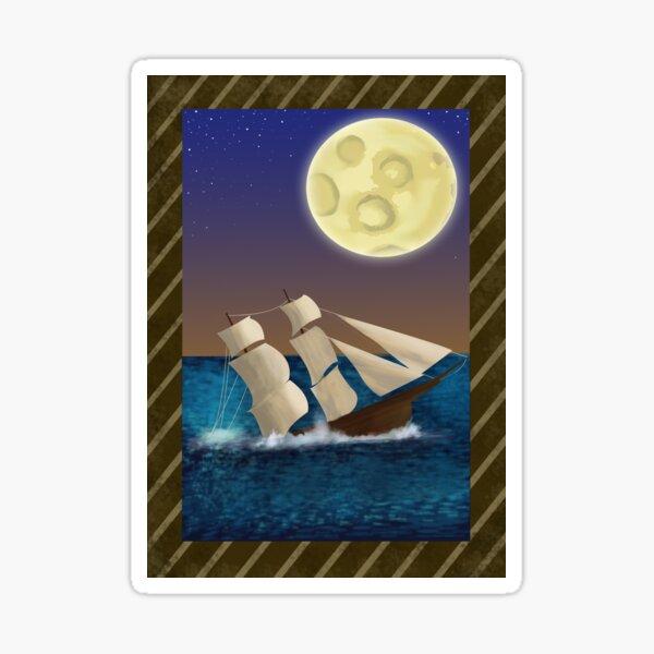 Wish I Wasn't Here - Shipwreck Sticker