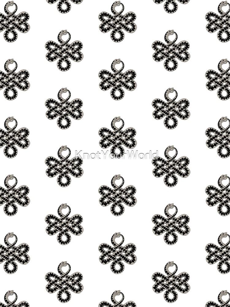 Celtic Knot Adder pattern by KnotYourWorld